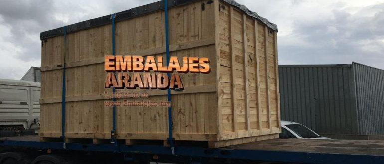 Embalaje madera Alberic València