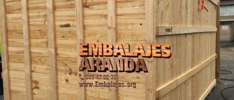Embalaje madera Alboraia València
