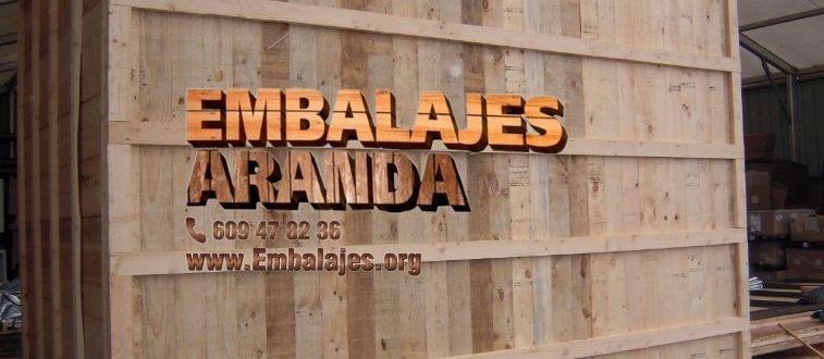 Embalaje madera Albox Almería