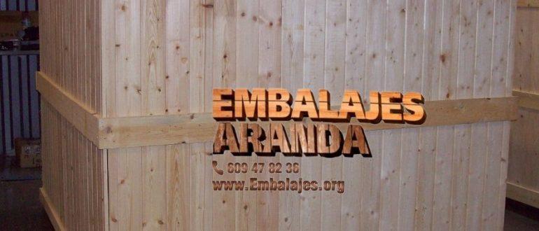 Embalaje madera Albuixech València