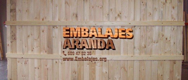Embalaje madera Albuñol Granada