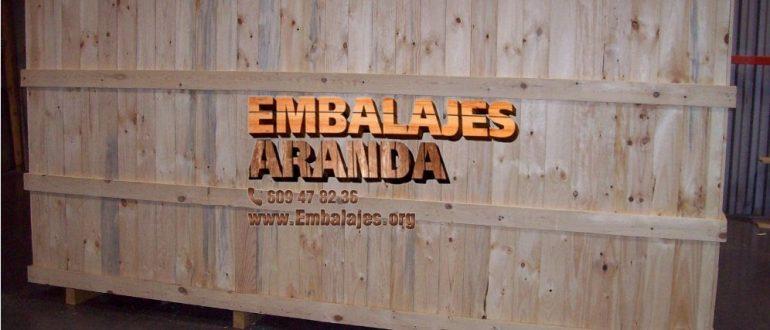 Embalaje madera Alburquerque Badajoz