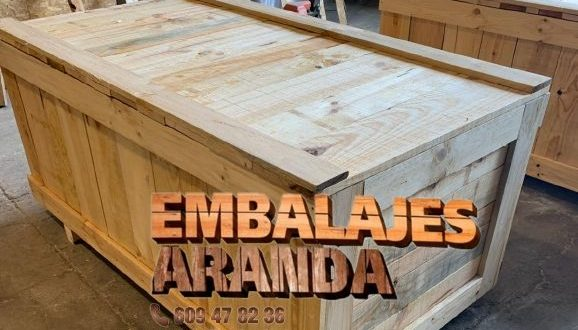 Embalaje madera Alcalá de Guadaíra