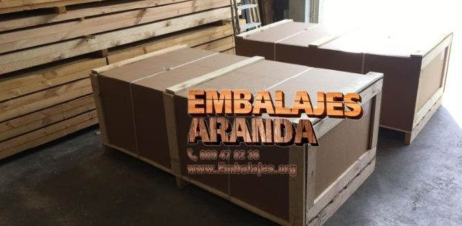Embalaje madera Alcañiz Teruel