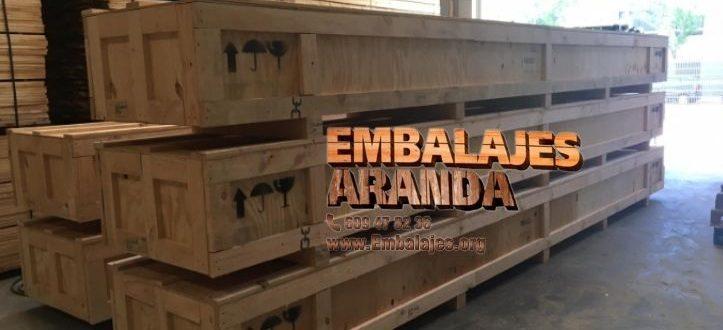 Embalaje madera Alcantarilla Murcia