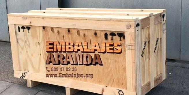 Embalaje madera Alcaudete Jaén