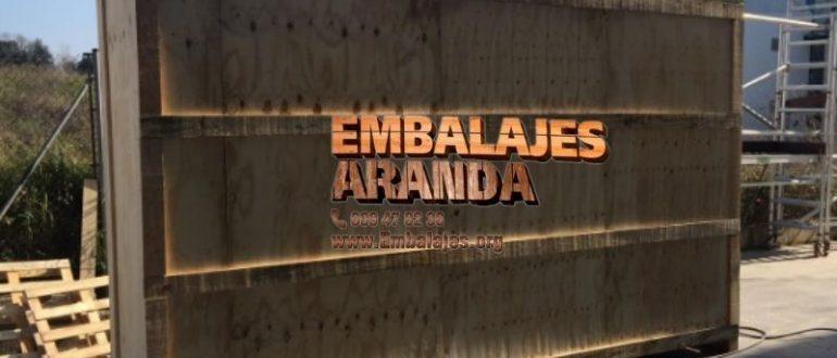 Embalaje madera Alcira València