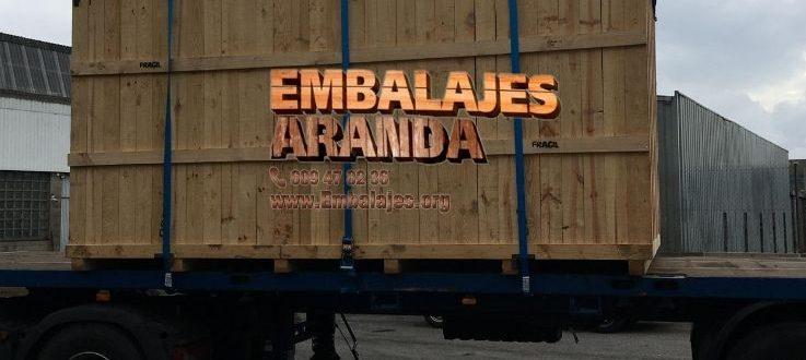 Embalaje madera Alcorisa Teruel