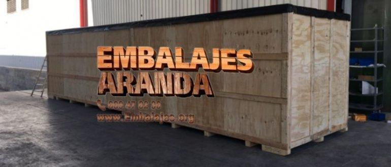 Embalaje madera Alcoy Alicante