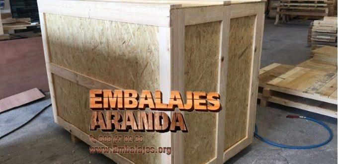 Embalaje madera Alella Barcelona