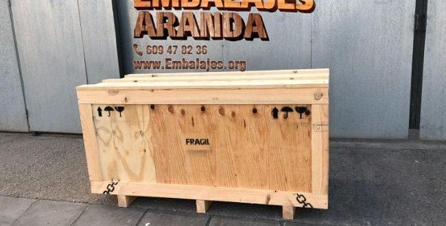 Embalaje madera Alfacar Granada