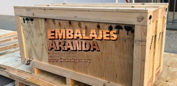 Embalaje madera Alfafar València