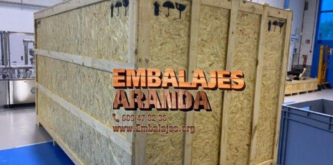 Embalaje madera Algarrobo Málaga