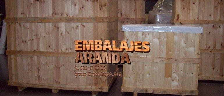 Embalaje madera Algeciras Cádiz