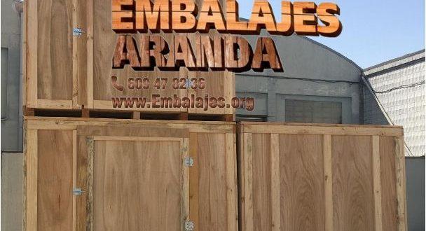 Embalaje madera Algete Madrid