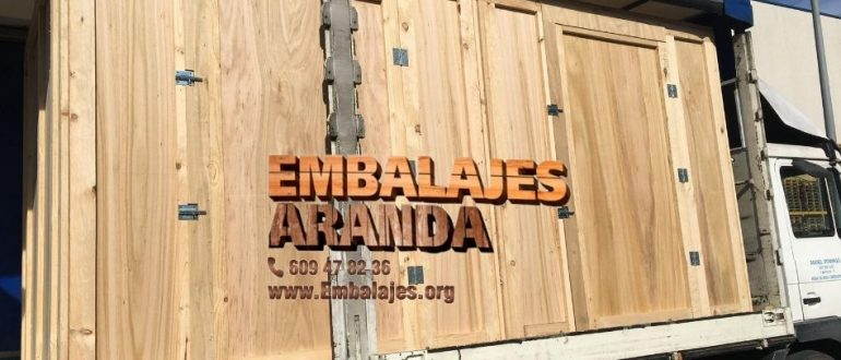 Embalaje madera Alginet València