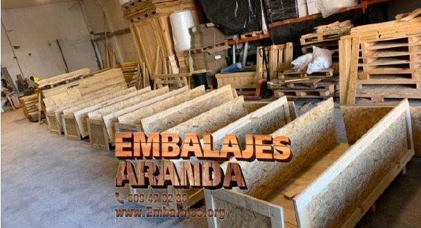 Embalaje madera Algodonales Cádiz