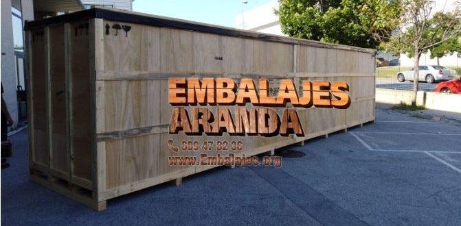 Embalaje madera Alguazas Murcia
