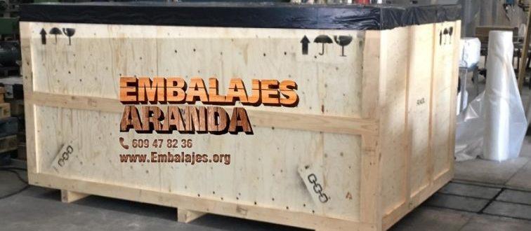 Embalaje madera Alhama de Granada