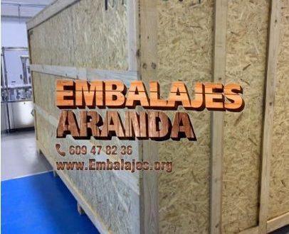 Embalaje madera Alhama de Murcia