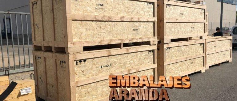 Embalaje madera Alhaurín el Grande Málaga