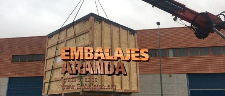 Embalaje madera Alicante