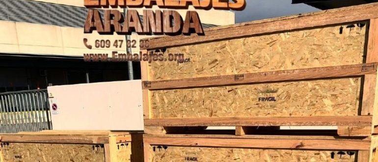 Embalaje madera Aller Asturias