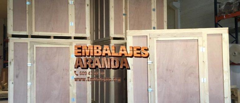 Embalaje madera Almagro Ciudad Real