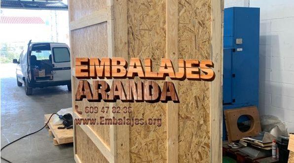 Embalaje madera Almansa Albacete
