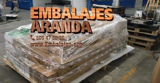 Embalaje madera Almàssera València