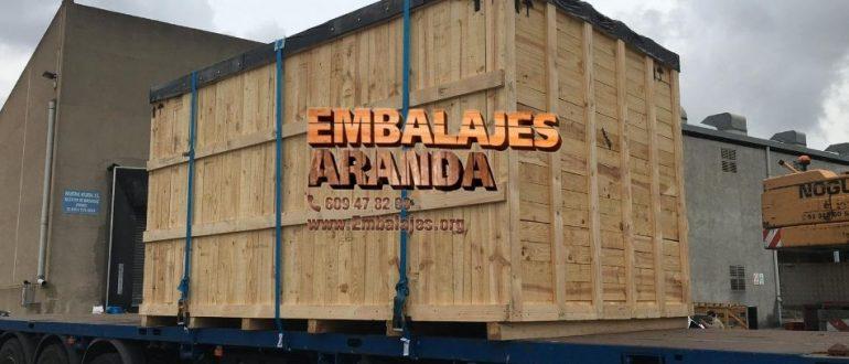 Embalaje madera Almassora Castelló