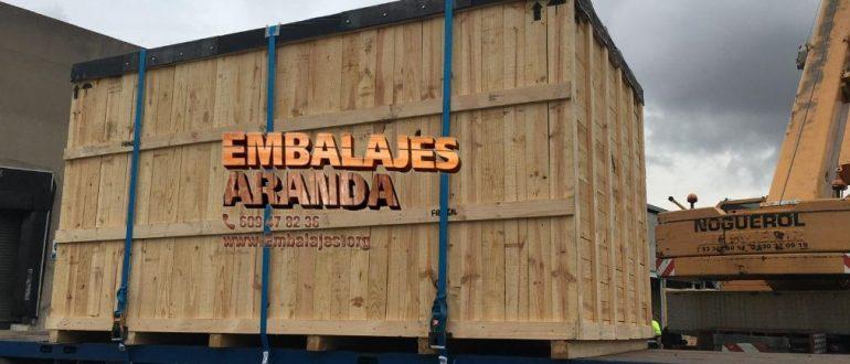 Embalaje madera Almazán Soria