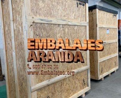Embalaje madera Almería