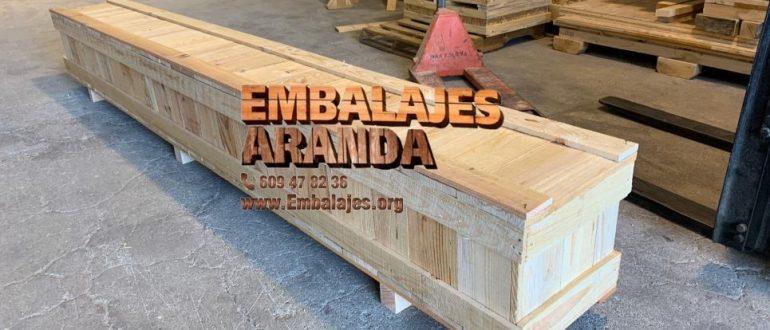 Embalaje madera Almodóvar del Río Córdoba