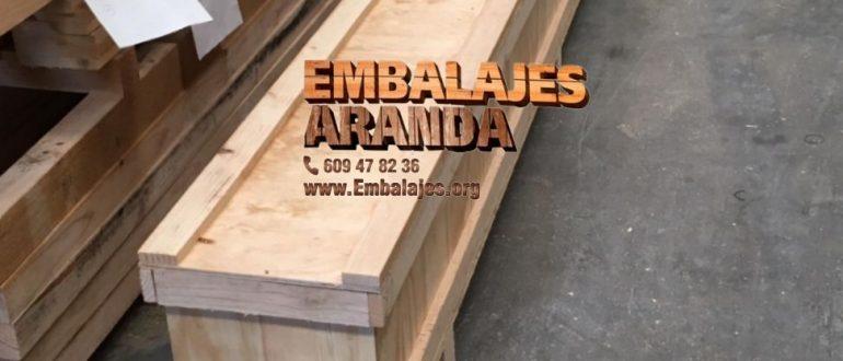 Embalaje madera Almonte Huelva