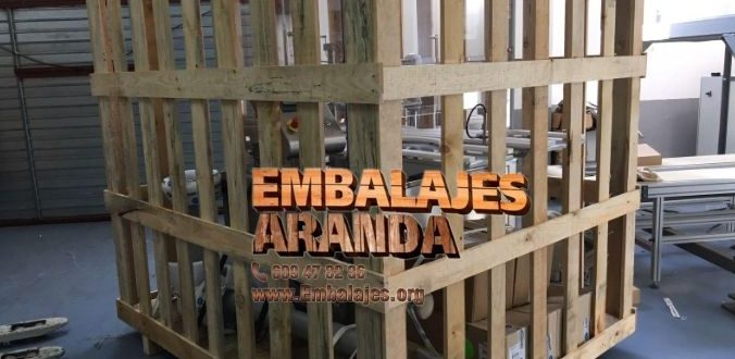 Embalaje madera Almuñécar Granada