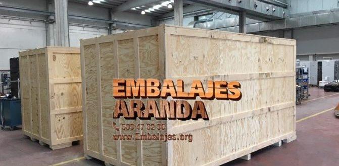 Embalaje madera Almussafes València
