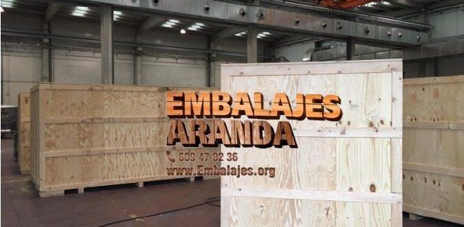 Embalaje madera Álora Málaga