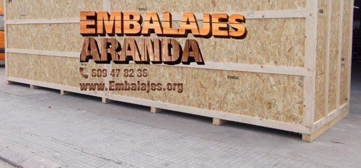 Embalaje madera Alpicat LLeida
