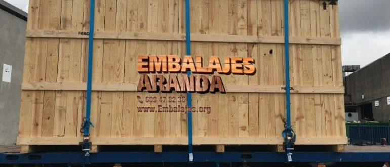 Embalaje madera Altafulla Tarragona