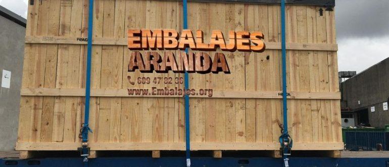 Embalaje madera Altea Alicante