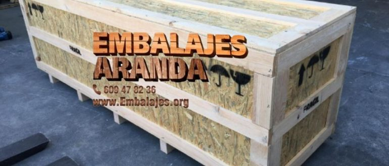 Embalaje madera Ames A Coruña