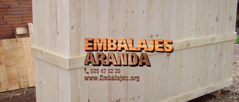 Embalaje madera Amorebieta-Echano Bizkaia