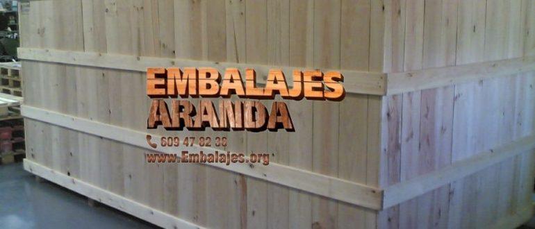 Embalaje madera Amposta Tarragona