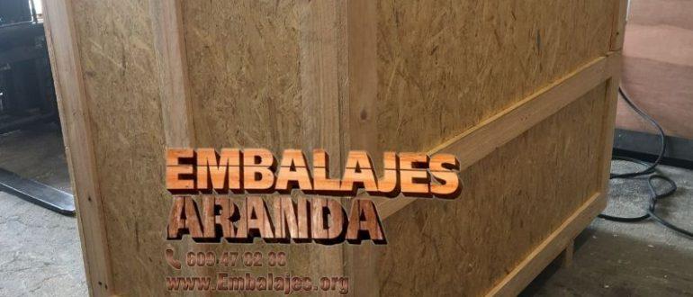 Embalaje madera Andratx Islas Baleares
