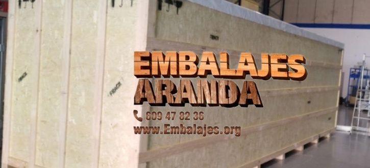 Embalaje madera Andújar Jaén