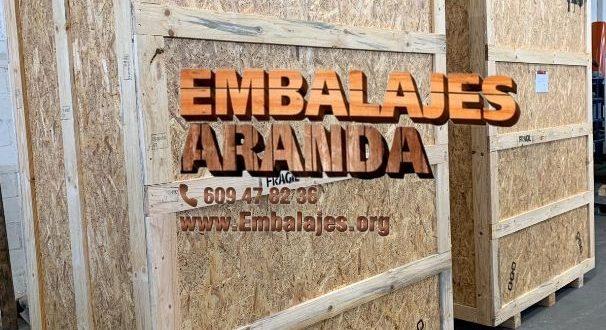 Embalaje madera Anglés Girona