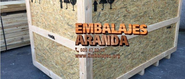 Embalaje madera Añover de Tajo Toledo