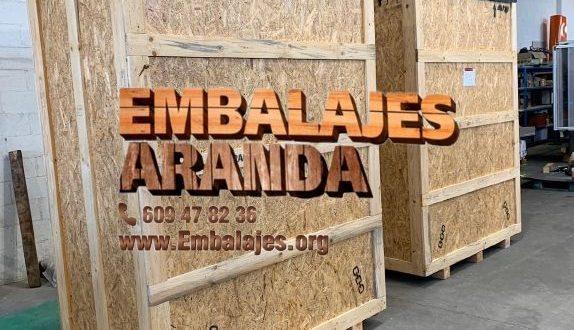 Embalaje madera Ansoáin Navarra