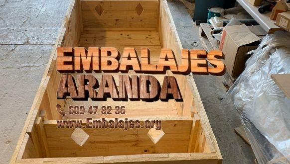 Embalaje madera Antequera Málaga